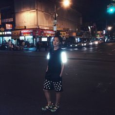 #bun Flushing, Queens. Showing off @icnysport reflective gear. #icny #puma #championusa