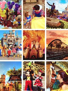 The many faces and places of Disney
