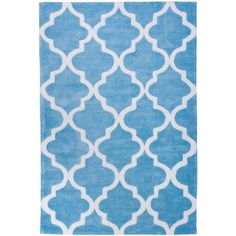 Well Woven Mirage Lattice Light Blue Area Rug--  http://www.wayfair.com/Mirage-Lattice-Modern-Light-Blue-Area-Rug-MR16-WWVN1034.html