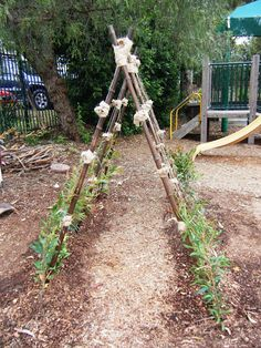 Lots of natural playscape ideas from this preschool.