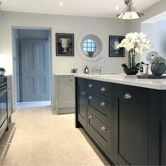 40 trendy home dco kitchen colour Kitchen Colour Schemes, Kitchen Wall Colors, Home Decor Kitchen, Kitchen Interior, Home Kitchens, Kitchen Design, Kitchen Ideas, Kitchen Inspiration, Kitchen Furniture