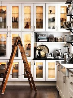 Forget this Ikea wall for a kitchen, I would like this for my studio, all organized with supplies and art books and things in there.