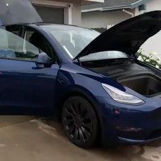 Tesla Electric Car, Electric Cars, Tesla Video, Tesla Interior, Dream Cars, Toyota, Ford, Bmw, Exterior