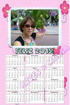 Calendário Flores