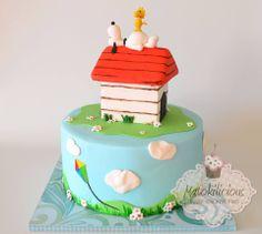 Snoopy cake - Matokilicious