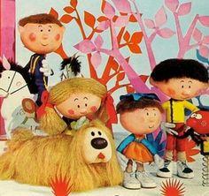 Programma anni '70 x bambini Bobo super cane inglese