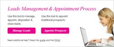 Leads management and Appointment Processing Tools