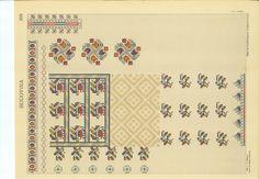 Drawing board of romanian traditional sewing motif. Bordado Popular, Folk Embroidery, Drawing Board, Pattern Books, Traditional Outfits, Cross Stitch Patterns, Folk Art, Sewing, Drawings