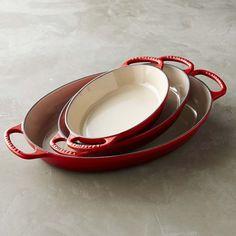 Le Creuset Cast-Iron Oval Baker | Williams-Sonoma