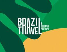 Graphic Design Branding, Logo Branding, Brazil Festival, Tea Logo, Logo Sketches, Brazil Travel, Travel And Tourism, Logos, Behance