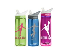 Figure Skating Personalized CamelBak Custom 0.75 Eddy / 0.6 L by SmittenInAMitten