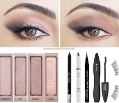 Naked 3 Makeup Looks @Luuux #Makeup #Naked_3 #Urban_Decay #Look