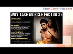 Muscle Factor X Online- Easy Way To Boost Your Body's Muscle With Muscle Factor X Muscle Formula