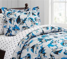 BATMAN Duvet Cover | Pottery Barn Kids