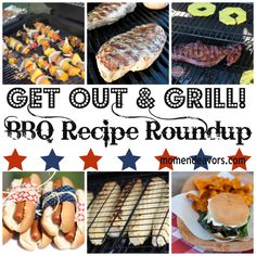 Grilling Ideas/Recipes - what a great round up to have for this Summer!  via @momendeavors