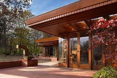 ION Architecture - NEWS : Cranbrook receives the Frank Lloyd Wright-designed Smith House as a donation