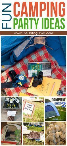 Fun Camping Party Ideas
