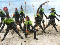 Banks Islands signature Sea Snake Dancers.