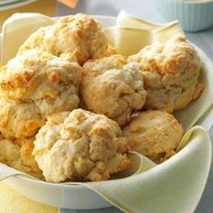 Hurry-Up Biscuits Recipe from Taste of Home