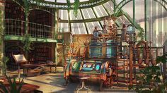 ArtStation - The Alchemist Laboratory , Kashuse Nuage