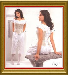 Corset Drawers Chemise PATTERN to sew Civil War Simplicity 2890 GWTW 8 10 12 14 | eBay