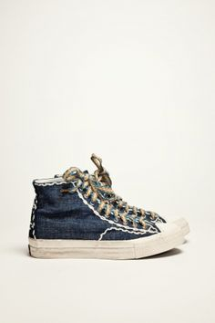 a52f9ce0dea2d Visvim Skagway Sashiko light indigo so cute Cool Trainers, Mens Essentials,  Swag Style,