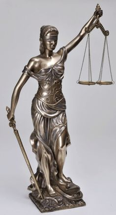 Roman Goddess Justitia Themis