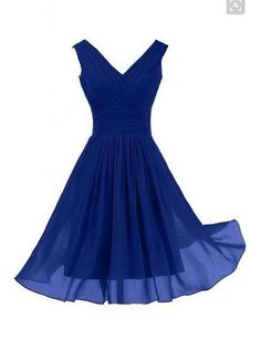 So+Elegant+bridemsiad+dress,cute+prom+dress,mini+bridemsaid+dress,Royal+Blue+Bridesmaid+Dress+For+Summer+Beach+Wedding Fabric:Chiffon+ Hemline/Train:Short-length+ Back+Detail:Zipper+ Sleeve+Length:sleeveless+ Shown+Color:Refer+to+image+ Built-In+Bra:yes This+is+a+Made-to-Order+item.+Al...