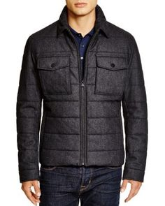 BOSS HUGO BOSS Cormac Wool Puffer Jacket - 100% Bloomingdale's Exclusive | Bloomingdale's