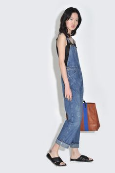d427063e62d1 Women s dungarees  six different looks – in pictures