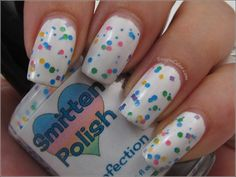 Smitten Polish Confection over white