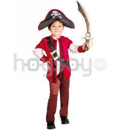 Original #disfraz para #niños de #piratilla para disfrutar de tu fiesta de disfraces #carnaval #pirata