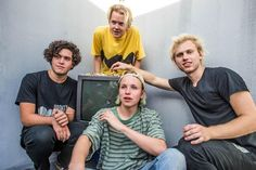 """I found out about them about a week ago and since then I haven't stopped listening to them . Go give them a try they are so good ! I'm obsessed with the songs """"Pretending"""" and ' Figuring it out """"."""