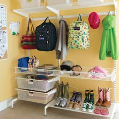 Entry Way Organization | The Joyful Organizer®