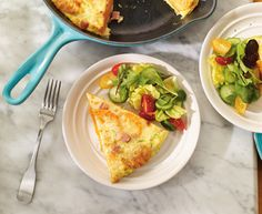 Sweet Potato, Ham and Brick Cheese Omelette with Tre Stelle® Brick Cheese Egg Recipes, Brunch Recipes, Breakfast Recipes, Breakfast Ideas, Cheese Omelette, Omelette Recipe, Ham And Cheese, Quick Easy Meals, Sweet Potato