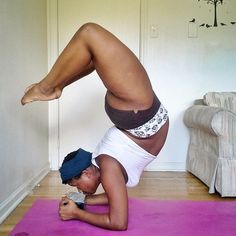 If I need anything in this world, it's this feeling. Invincible. I am the scorpion. This feeling is why I do #yoga- it's not a...