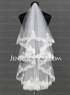 Wedding Veils - $36.99 - Wedding Veils (006013292) http://jenjenhouse.com/Wedding-Veils-006013292-g13292