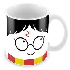 Caneca Porcelana Personalizada Harry Potter Todos Temos Luz