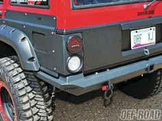 XJ rear quarter body armor is already available from OR