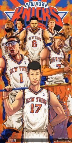 NY Knicks comic style by art3-ben-y