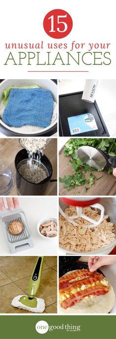 Ongebruikelijke toepassingen voor uw apparatuur