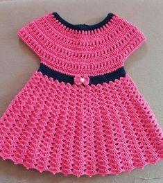 Newborn Baby Girl Dress & Headband Set ( Made to Order) Infant Dress, White Baby Dress, Baby Dress With Headband Baby Gift Set, Crochet Baby Crochet Baby Dress Pattern, Baby Dress Patterns, Baby Knitting Patterns, Crochet Patterns, Crotchet Dress, Crochet Top, Crochet Toddler, Baby Girl Crochet, Crochet Baby Clothes
