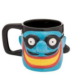 Vandor The Beatles Limited Edition Yellow Submarine Meanie Sculpted Ceramic Mug 1 Blue Meanie, Lunch Box Cooler, Alcohol, Caffeine Addiction, Morning Joe, Guitar Shop, Espresso Cups Set, Yellow Submarine, My Dear Friend