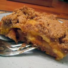 Apple and Cheddar Cheese Dessert Lasagna