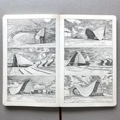 Conceptual Architecture, Architecture Drawings, Cute Little Houses, House Drawing, Urban Sketching, Instagram, Design, Videos, Art