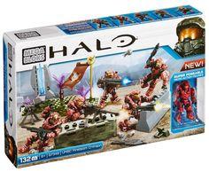 Halo Lego Sets, Lego Halo, Halo Mega Bloks, Mega Blocks, Lego Army, Bible Covers, Halo Setting, Legos, Airplanes