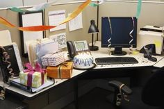 1000 ideas about cubicle birthday decorations on pinterest office