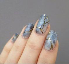 Image via We Heart It #fashion #girl #hands #manicure #marble #nailart #nailpolish #nails #cute+ #love+ #art+ #ootd #winter+ #pretty+ #beautiful+ #wow+ #blue+ #photography+ #gold+ #inspiration+ #grunge+ #gorgeous+ #print+