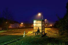 "Thomas Morel-Fort | LensCulture - ""Night Souls""  - inspired by Edward Hopper"