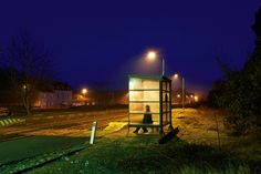 "Thomas Morel-Fort   LensCulture - ""Night Souls""  - inspired by Edward Hopper"